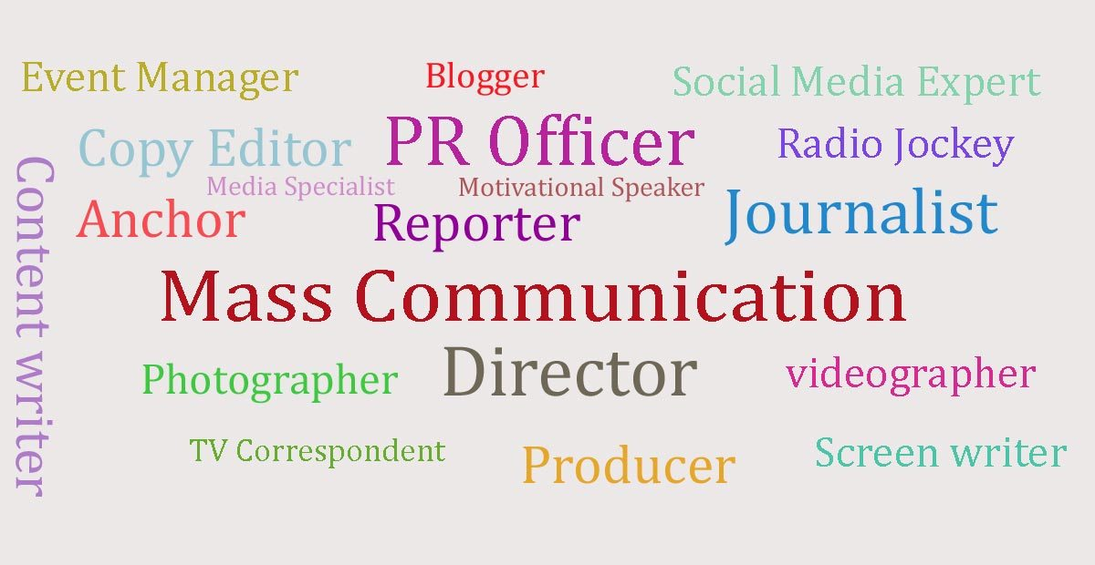 Mass-communication-as-a-job