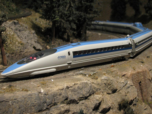 Himachal student makes bullet train model
